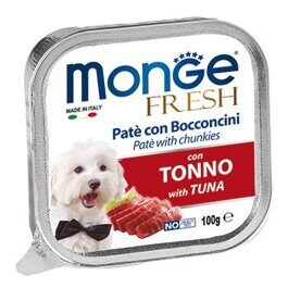 Monge Dog Fresh консервы для собак тунец 100г